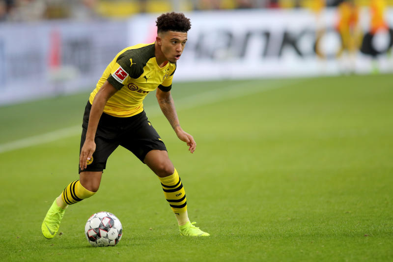 Jadon Sancho to stay at Dortmund until 2023