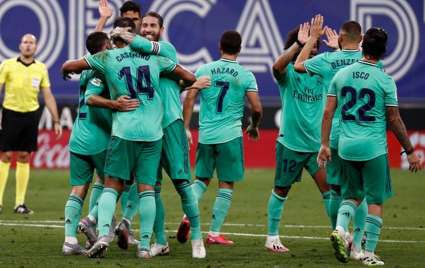 Karim Benzema magic helps Madrid go top of LaLiga