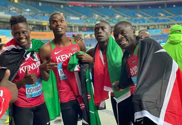 Kenya bags second Silver in men's 4x200m at World Relays in Poland