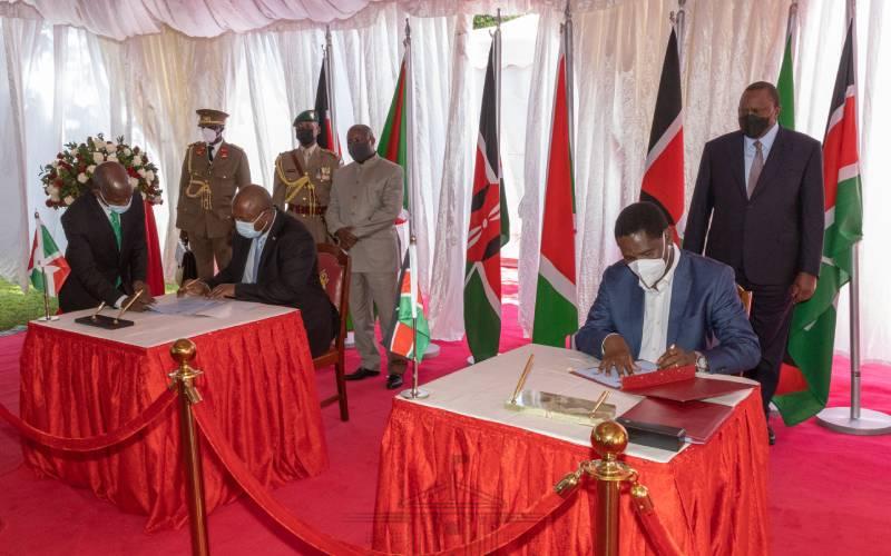 Kenya, Burundi to strengthen bilateral ties, pursue common agenda on global stage
