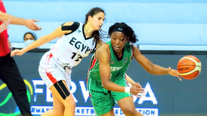 Kenya Lioness to face Cameroon in Group A of Women's AfroBasket