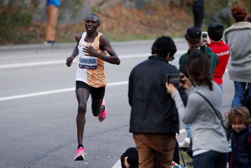 Kamworor gives update on his injuries after being hit by a motorcyclist