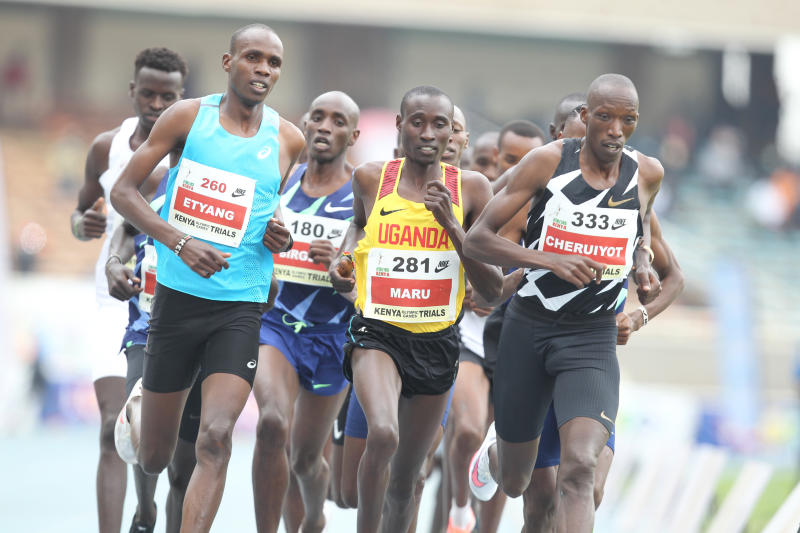 Kenyan trio hunt for 1500m title: Cheruiyot, Simotwo and Kipsang battle for slots in semi-finals today