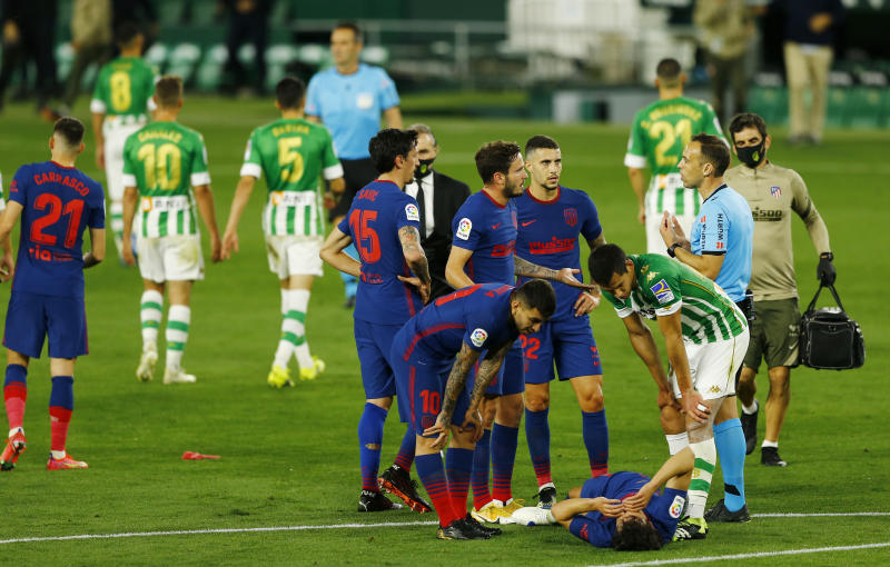 LaLiga: Atletico drop more points while picking up more injuries
