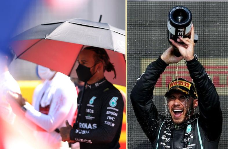 Lewis Hamilton subjected to racist abuse online after British Grand Prix