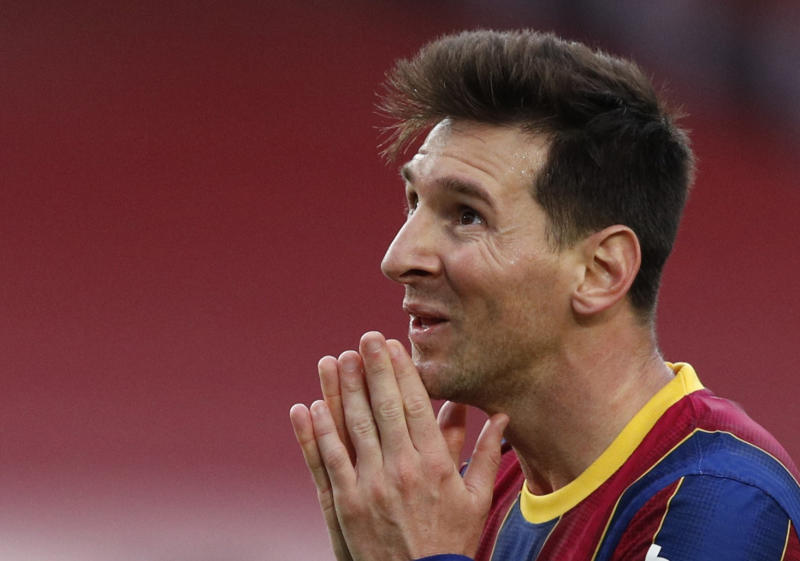 Lionel Messi's Barcelona contract to expire in two days