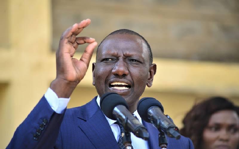 Stop badmouthing President Uhuru, Ruto tells MPs - The Standard
