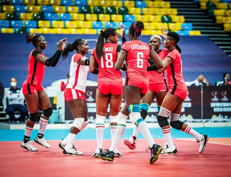 Malkia Strikers finish second in African tourney