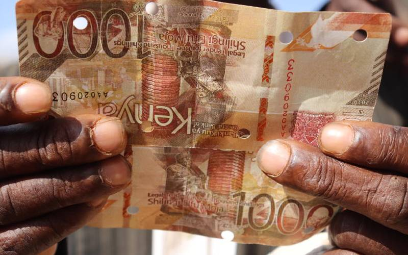 Man arrested in Homa Bay with Sh36,000 fake currency notes