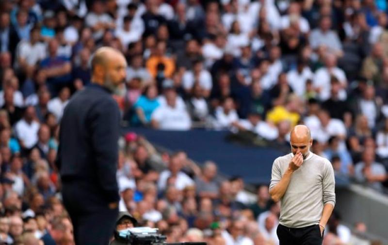 Man City boss Pep Guardiola reveals why they were beaten 1-0 by Tottenham