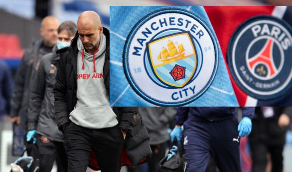 Man City players must stay calm to finish off PSG, says Guardiola