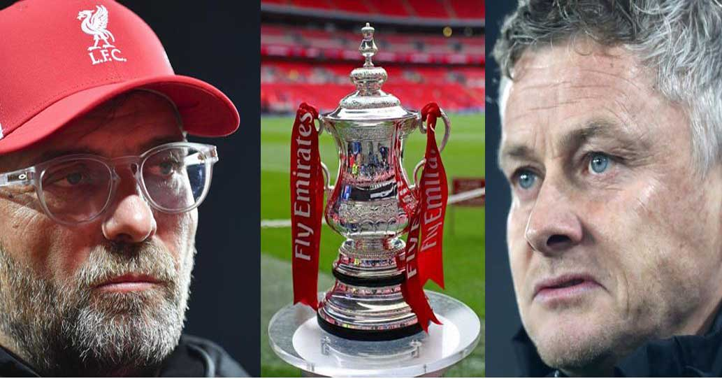 Manchester United to face Liverpool in FA Cup fourth round ...