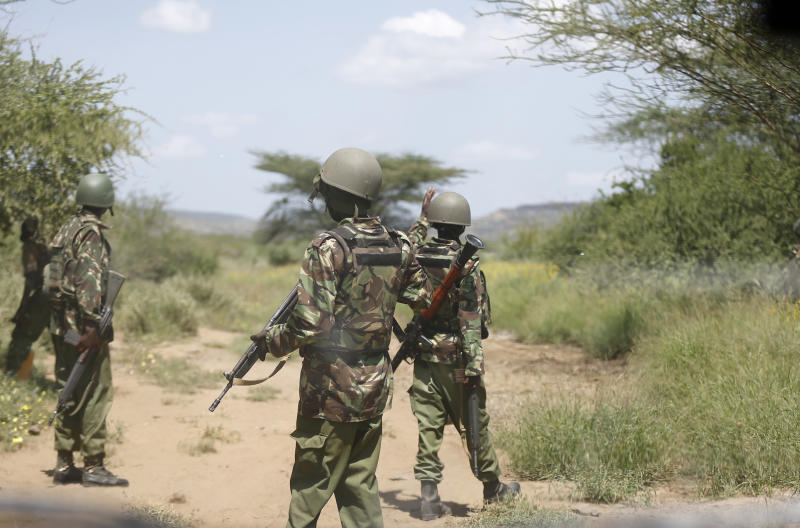 Markets shut, homes deserted in Kapedo arms, bandits search