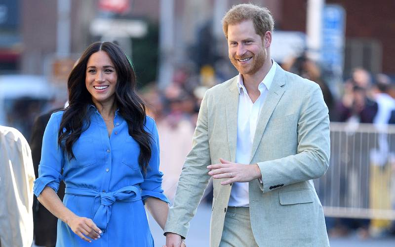 Meghan and Harry name baby daughter after Queen Elizabeth and Diana