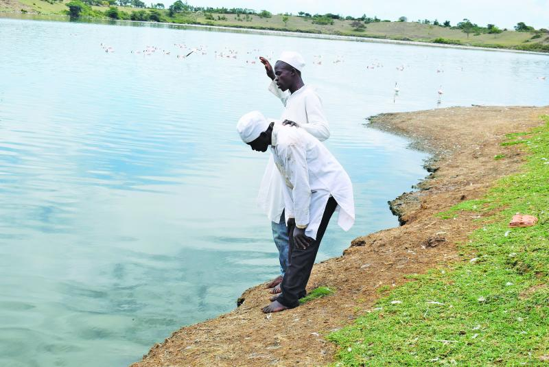 Holy water: Why men of God flock to Lake Simbi Nyaima to cast out demons
