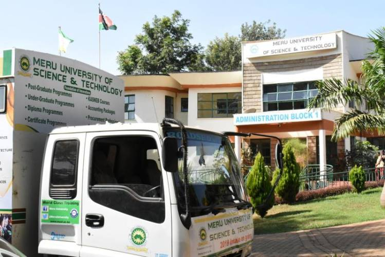 Meru University unveils driving school for students