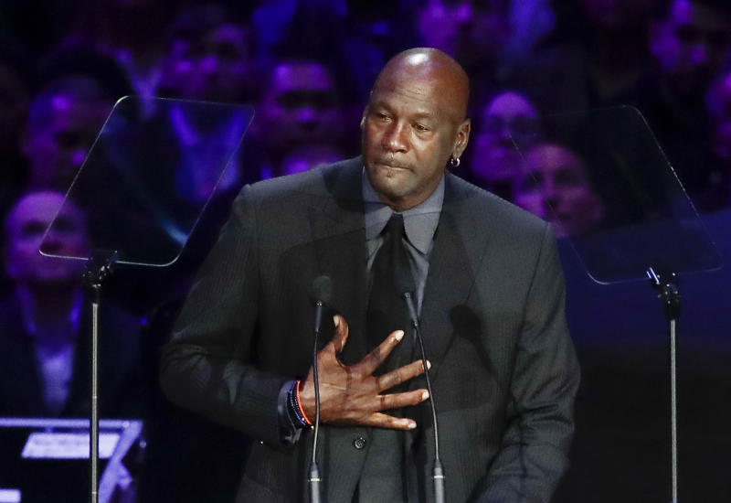 Michael Jordan and Lewis Hamilton join sportsmen denouncing Floyd's death
