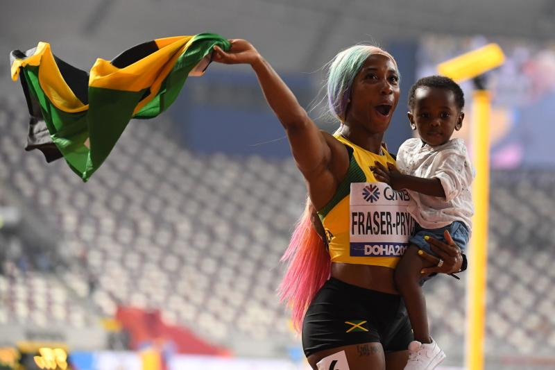 Mom, you are my hero - mothers at Tokyo 2020