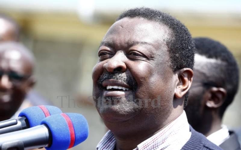 Musalia Mudavadi tells IEBC to come clean on Huduma Namba claims