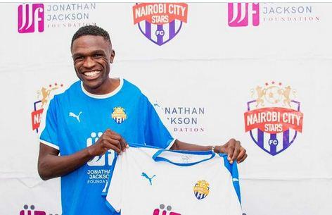 Nairobi City Stars complete signing of defensive midfielder Sven from Kariobangi Sharks