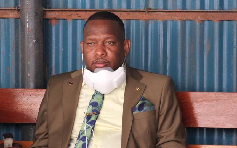 Police disperse Sonko meeting with city MCAs