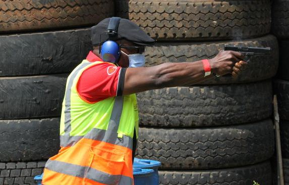 National shooting team train eye on Africa tourney