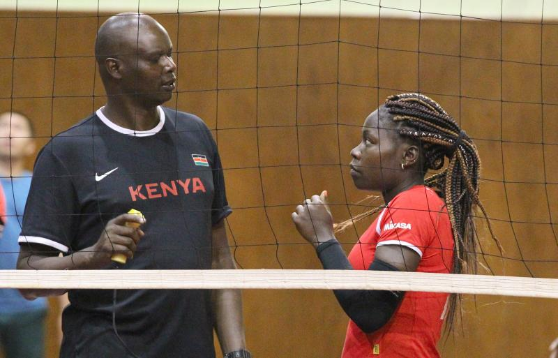 National volleyball coach Bitok drops two from Malkia Strikers draft Olympics squad