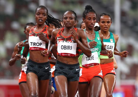 Netherland's Hassan beats Obiri to 5,000m gold in Tokyo