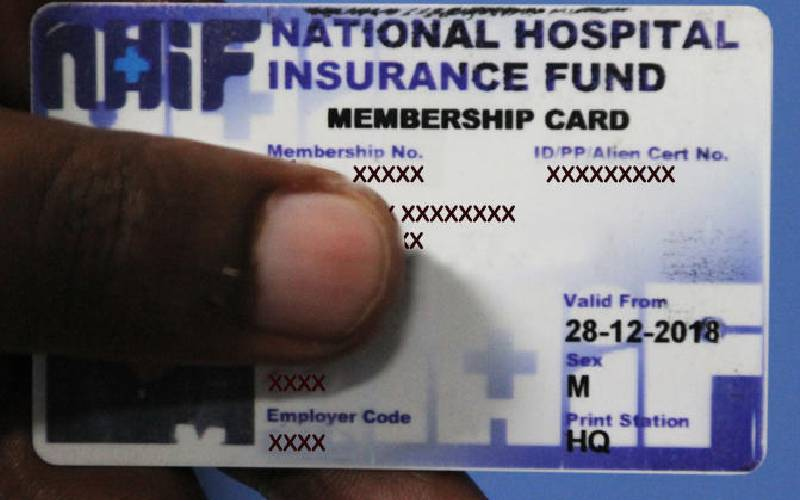 NHIF incurs losses as half of registered members are dormant