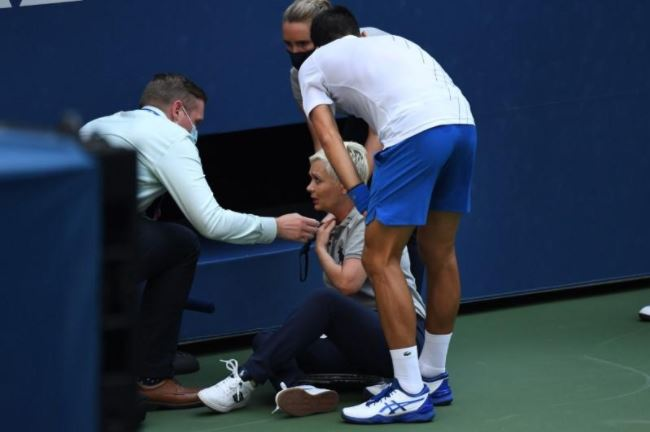 'No other option' in Djokovic disqualification – Referee