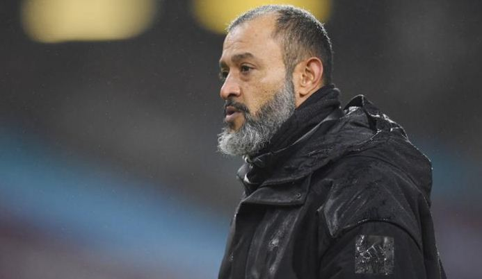Nuno hails Wolves' character after Tottenham draw
