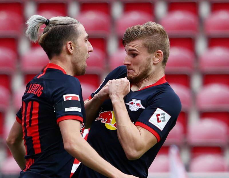 Werner hat-trick helps Leipzig crush hosts Mainz 5-0