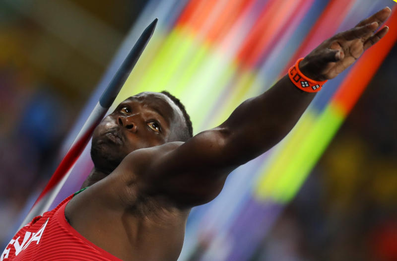 Olympic javelin silver medallist: Enough with this captain armband issue