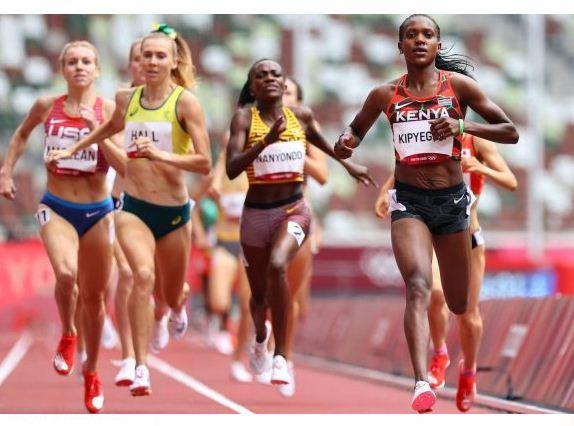 Olympics: Faith leads Chebet and Jebitok into 1,500m women semi-finals