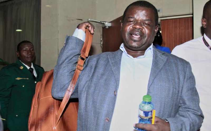 Omtatah: Judiciary is not to blame