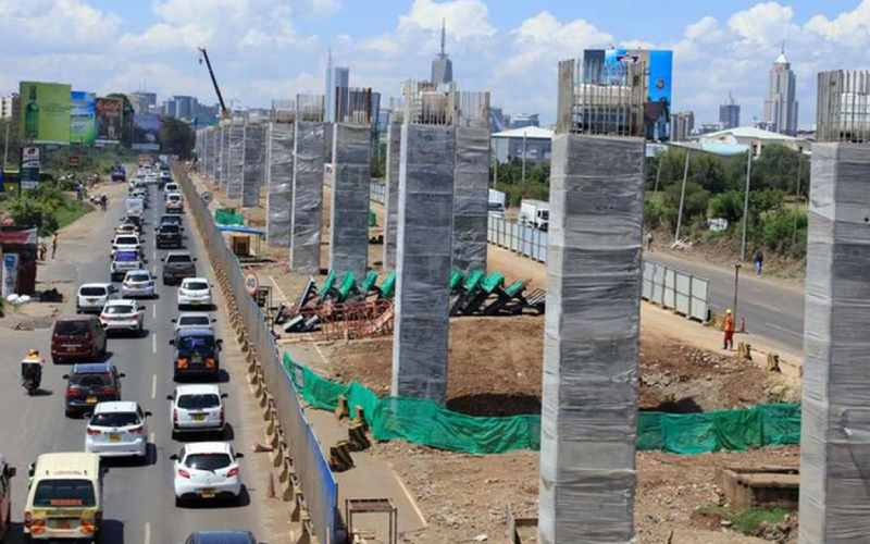 Roads closed for Nairobi Expressway construction reopen from September 30
