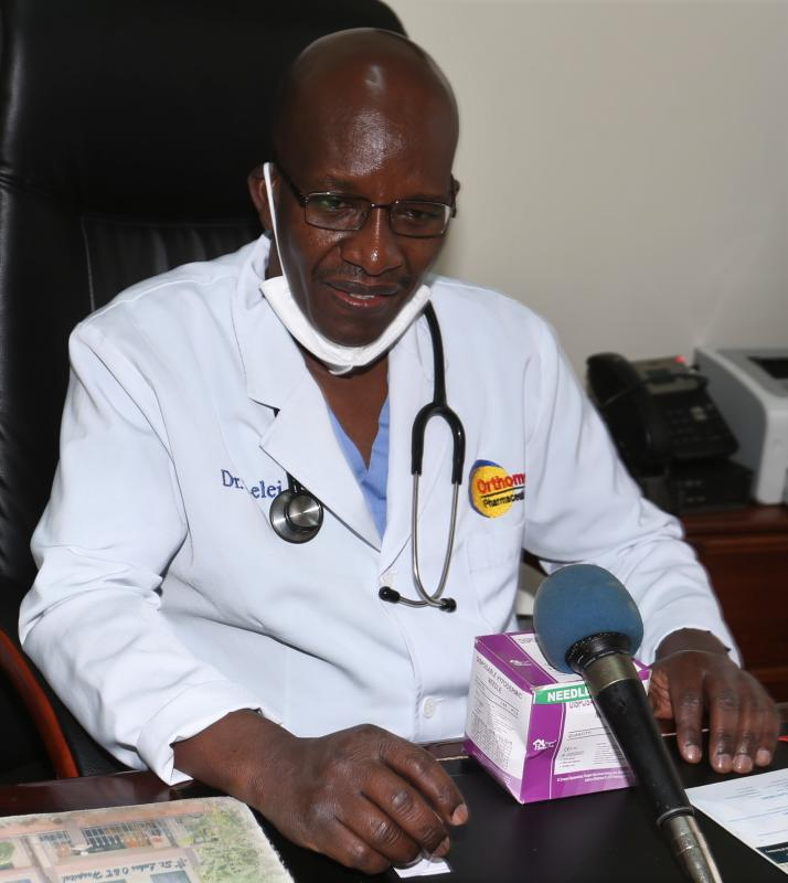 Opening up patients was so scary when I was a medical student - Dr Lelei