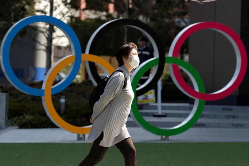 Overseas athletes may be able to take part in Olympic test events, organisers say