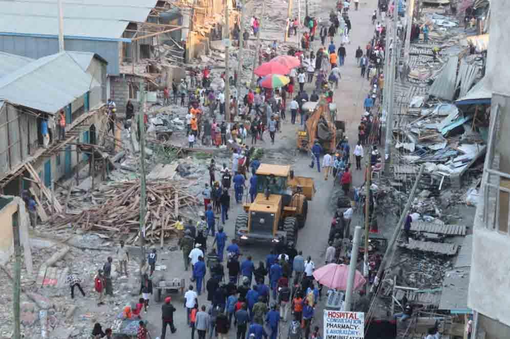 Demolitions at Mukuru kwa Njenga ongoing [Photos]