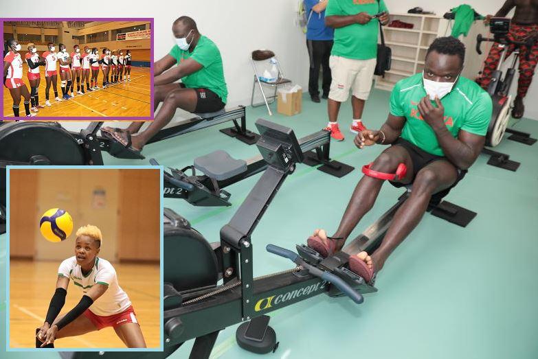 Photos: First Group of Team Kenya training in Kurume ahead of the 2020 Olympics