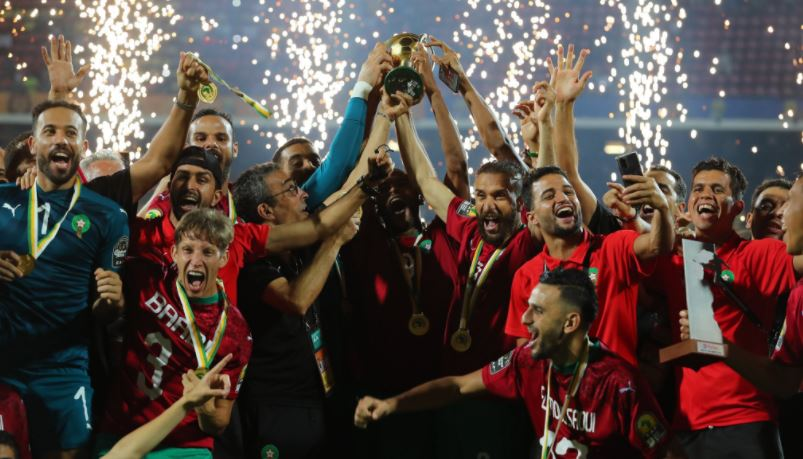 PHOTOS: Morocco retain CHAN title after beating Mali