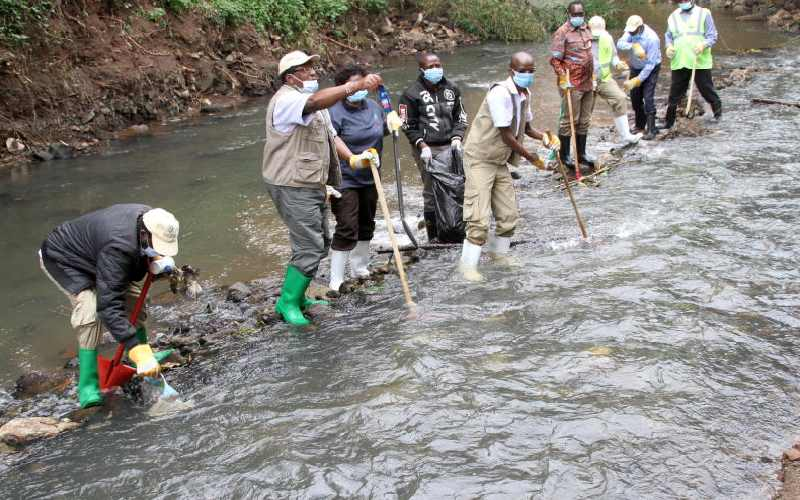 Polluters to be seized as Michuki Park opens