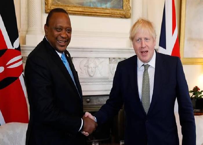 President Kenyatta's UK visit aimed at strengthening development ties