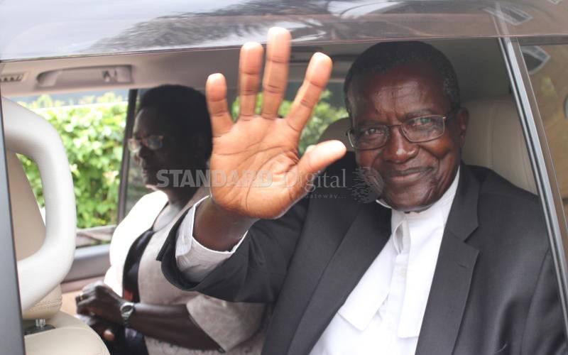 Race to replace Maraga starts officially