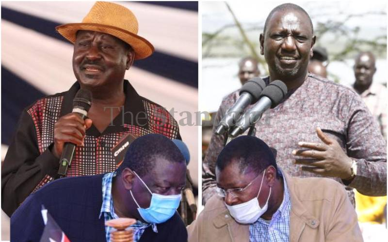 Raila and Ruto big winners from western's dominant political leader