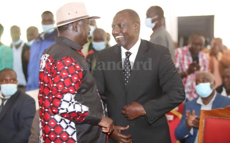 Raila, DP Ruto clash at the Coast over law change