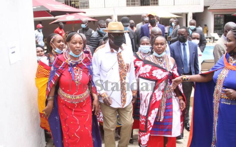 Raila banks on Mau debate to win Maa votes