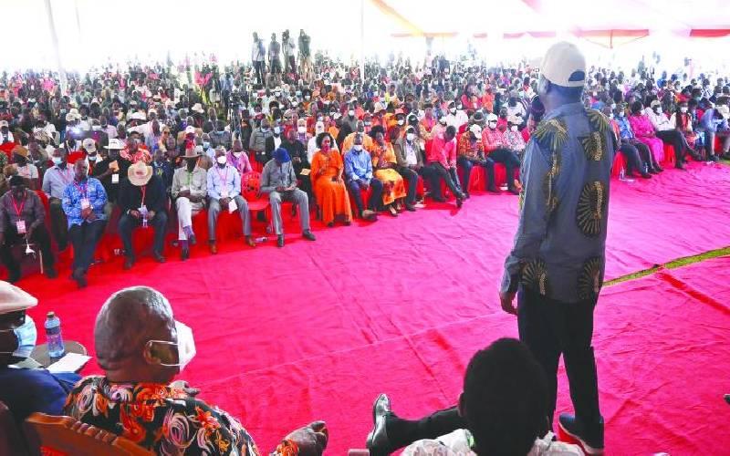Raila: Uhuru will never betray me