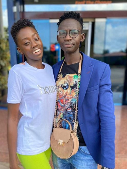 Relax: MC Tricky and I are just friends, says Singer Akothee's daughter Rue Baby