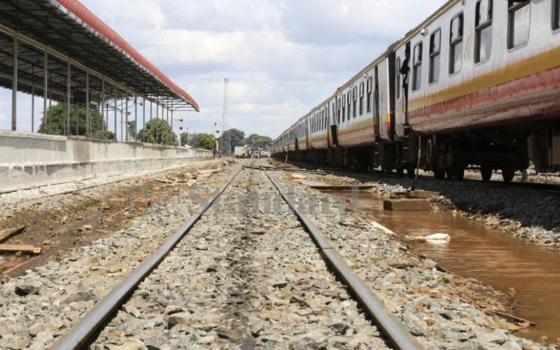 Revamped rail from Naivasha to Malaba nears completion